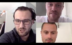 Aflevering 1 sportbeleving quiz Mike Verhagen vs Martijn Jansen