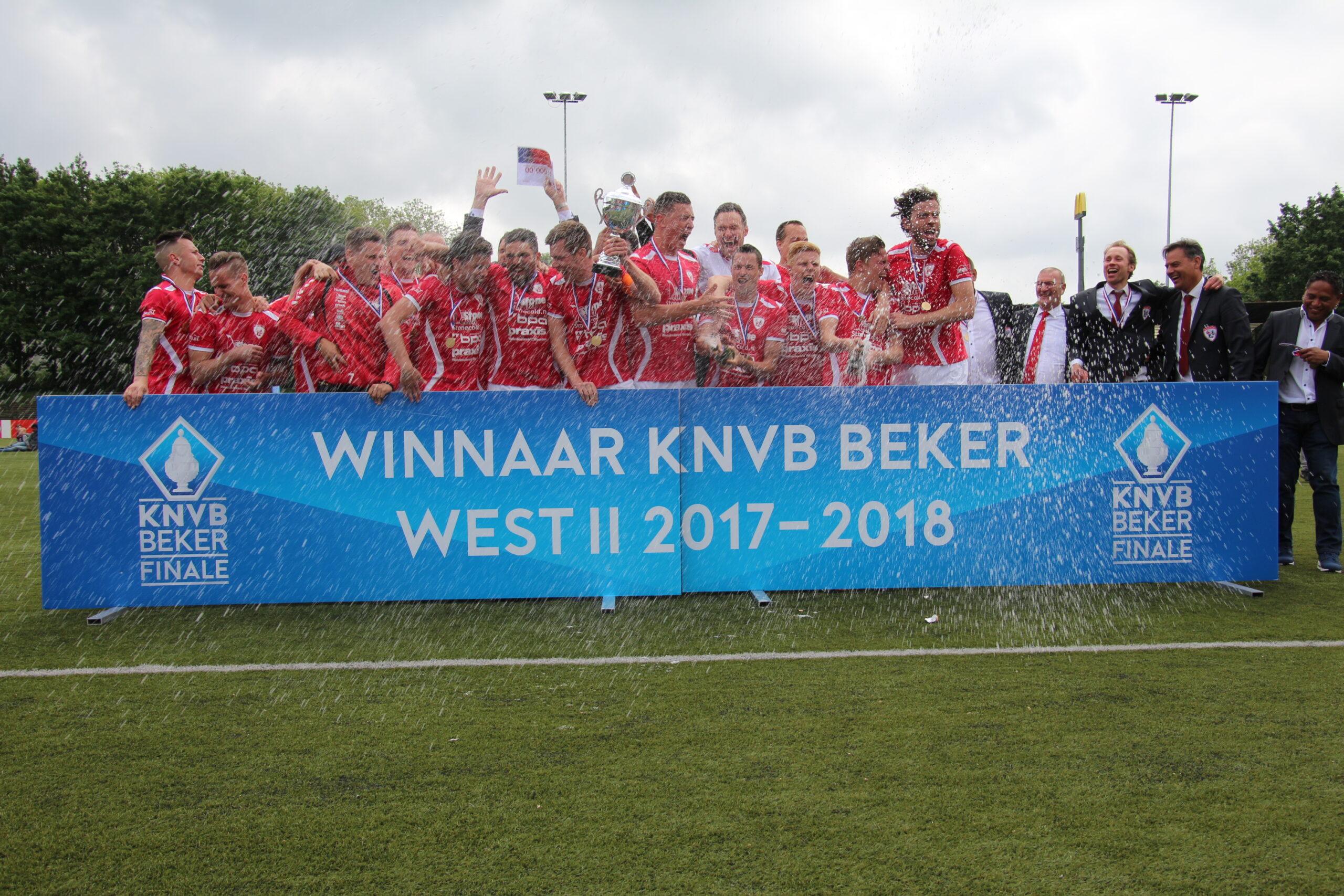 Bekerfinale Sportlust '46 - FC 's Gravenzande