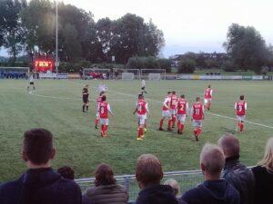 Antonio winnende VV Linschoten